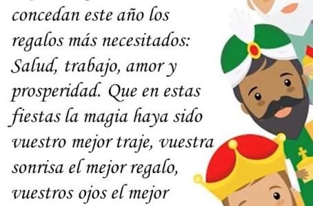 LOS REYES MAGOS VISITAN ENTREPINARES DEL MERCADILLO