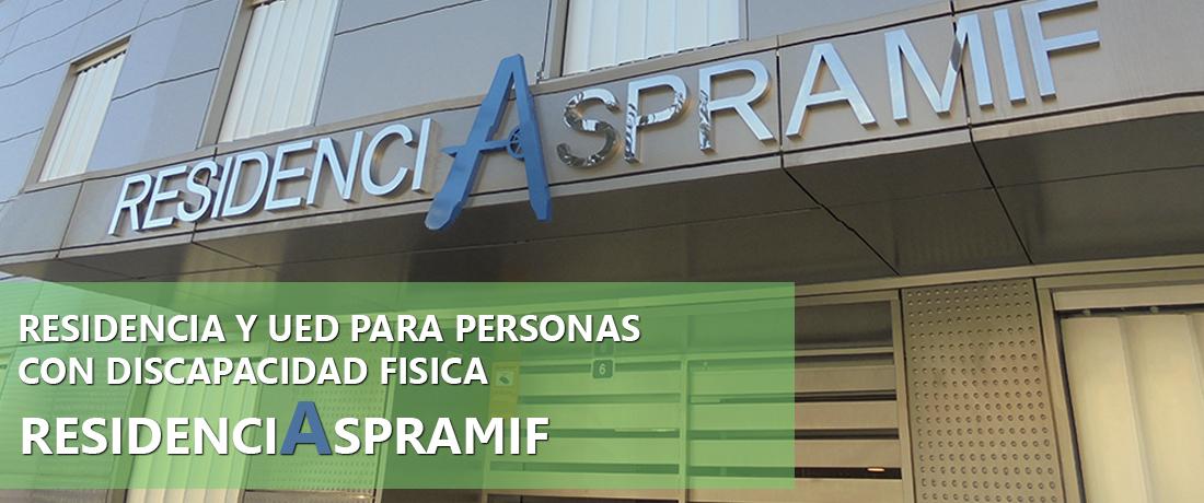 Residencia y Unidad de Estancia de Día para personas con discapacidad física: Residencia Aspramif